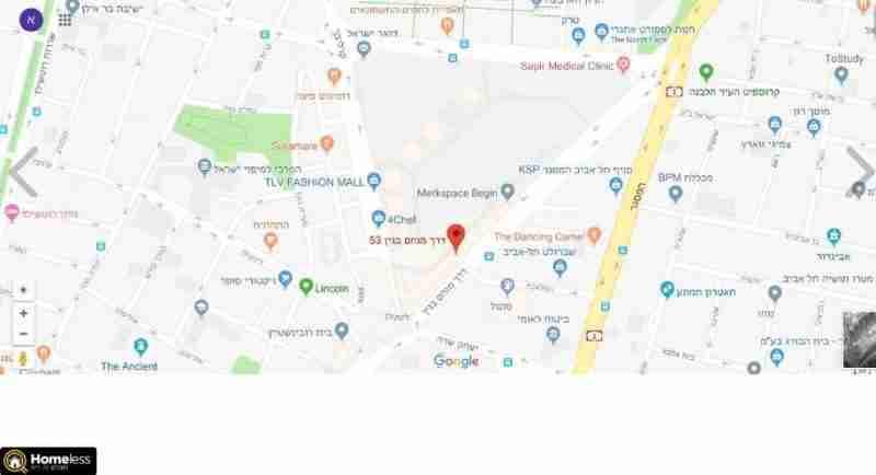 משרדים להשכרה | דרך מנחם בגין מונטיפיורי תל אביב יפו