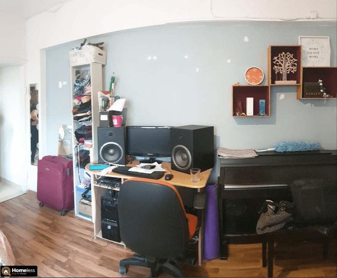 דירה 1 חדרים | אבולעפיה פלורנטין תל אביב יפו